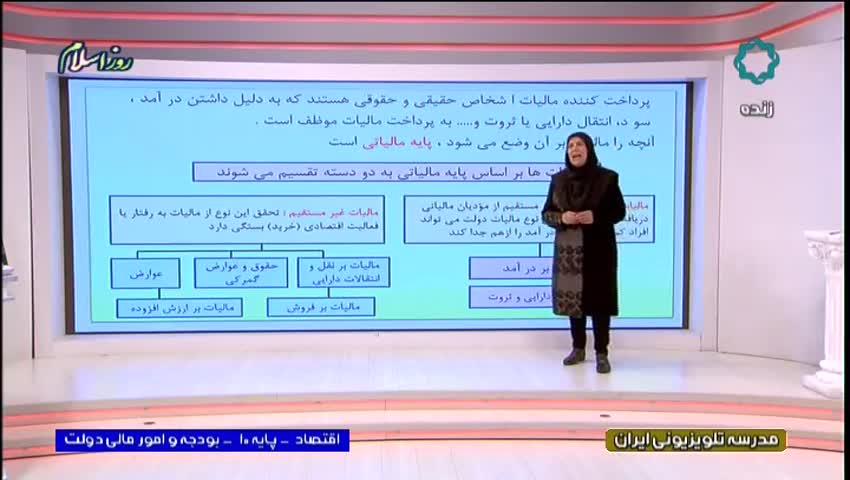 ویدیو آموزش فصل 2 بخش 4 اقتصاد دهم